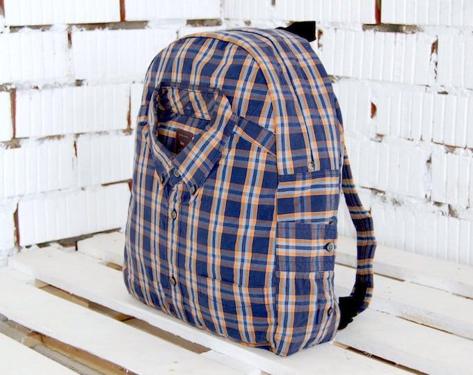 Bohemian backpack, school backpack, unique backpack, unisex backpack, upcycled backpack, eco friendly backpack, cycling backpack, rucksack