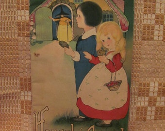 1916 'Hansel and Gretel' Illustrated by Margaret Evans Price Published by Skecher Litho Co. N.Y.