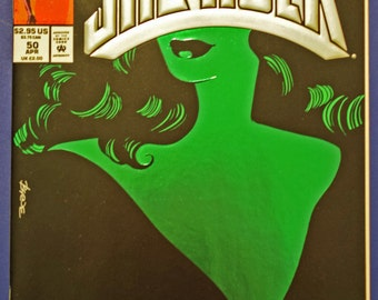 She-Hulk Comic, #50 (Grade NM) 1993, Marvel Comics She-Hulk, Vintage Modern Age She Hulk, (B1)