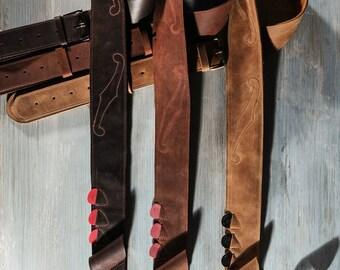 Leather Guitar strap, Guitar straps, leather guitar straps, custom guitar straps, guitar accessories, cool guitar straps, bass guitar straps