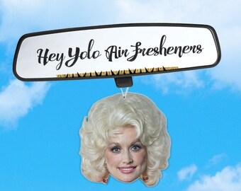 Dolly Parton Air Freshener - Dolly Air Freshener - Fresh Scents - Queen of Pop - Air Freshener Heads