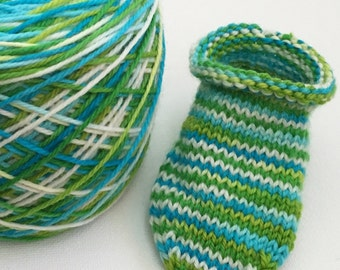 Babycakes Roll Top Socks Knitting Pattern ***Digital Download***