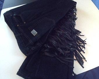 Ladies Western Pants with Fringes