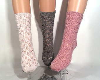 Woman's woolen socks