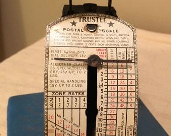 Vintage Trustee Postal Scale