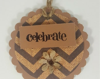 Gift Tags- All Occasion Gift Tags - Chevron Design Gift Tags