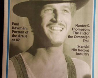 Rolling Stone Magazine #138 5/7-1973 Hunter Thomson Paul Newman.