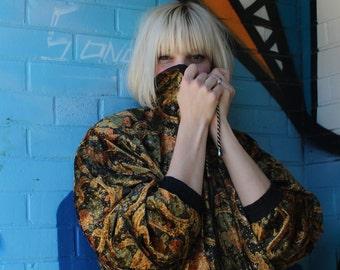 Reversible Black & Gold/Paisley Jacket