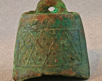 Chinese bronze archaic bell