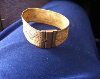 Art Deco Mesh Bracelet
