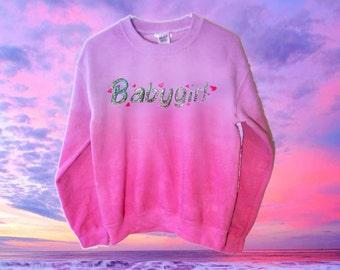 Customizable Babygirl Sweatshirt