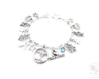 Personalized Gymnastics Gifts, Gymnast Bracelet, Gymnastics Jewelry, Gymnastics Charm Bracelet, Gymnastics Gifts, Gymnast Gifts