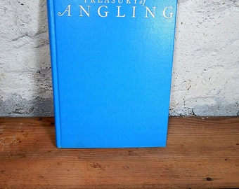 FREE SHIPPING-  The Treasury of Angling Larry Koller. Instructional Color Photos Index Fly Fishing