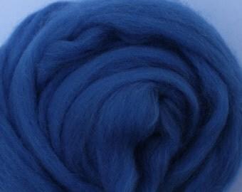 CORNFLOWER BLUE - Merino Wool Roving 1/4oz, 1/2oz or 1oz