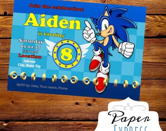 Printable Character themed Invitations