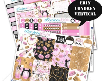 Valentines Day Stickers, February Planner Kit 200+ Vday Planner Stickers, for Erin Condren Sticker, Valentine Stickers #SQ00342-ECV