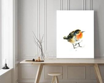 Minimalist bird print, art print, watercolor print, bird print, bird illustration, minimalist modern print, watercolor painting art