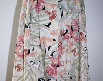 Flowery skirt vintage Sym
