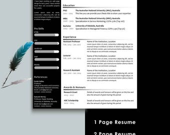 Resume Additional Skills Free Resume Template  Etsy Resume Examples For Restaurant Excel with Security Resume Sample Excel Resume Template Teacher Resume Professional Resume Instant Download  Creative Free Resume Template Google Doc Templates Resume Excel