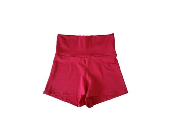 Red Shorts for Training