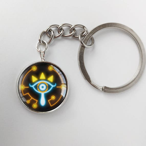botw jewelry botw sheikah slate eye symbol breath of the key 3442