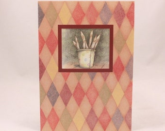 Among Friends Greeting Card. One Card and Envelope