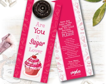 Plexus Door Hanger - Sugar Lover