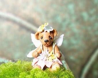 Bear fairy in a dress