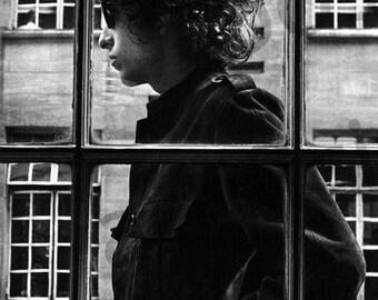Bob Dylan London 1966 Poster