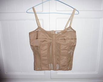 INFINITIVE Camisole top size 38 FR - 1980s