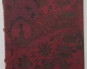 New York Souvenir Pictorial Folder