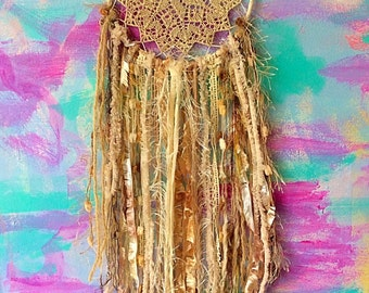 Dreamcatcher Boho Bohemian Hippie Gypsy Freespirit Nursery Bride Shabby