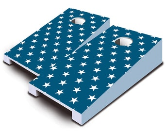 Liberty Stars Tabletop Cornhole Board Set.
