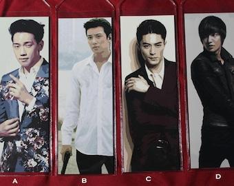 Korean Drama Digital Art Bookmark