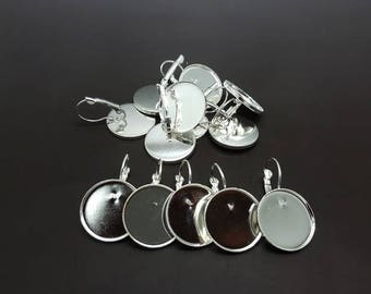 20 silver sleepers plate 20mm