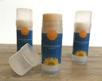 Natural Deodorant with Bergamot Essential Oil and Probiotics