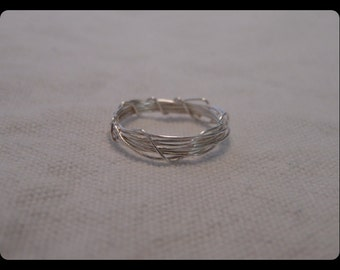 Sterling Silver Wrapped Ring