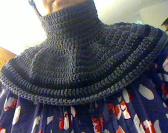 Crochet Balaclava and capelet