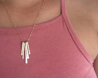 Gold Delicate Necklace, Drop Necklace, Dainty Necklace, Delicate Necklace, Everyday necklace, Gold Filled Necklace, Bridesmaids Necklace