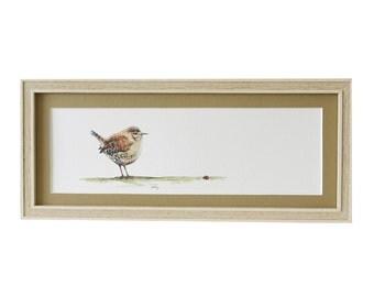 Wren Bird Print