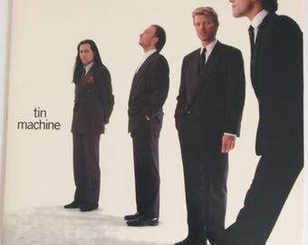David Bowie Tin Machine Debut Vinyl LP May 1989 EMI USA (E191990)