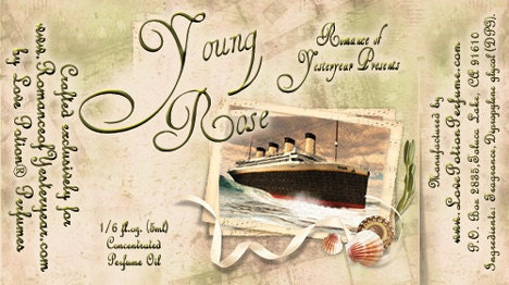 SPECIAL: Titanic Inspired Scents