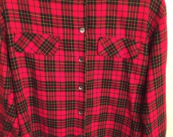 Cozy Red Flannel