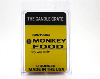 Monkey Food Scented Soy Wax Melts