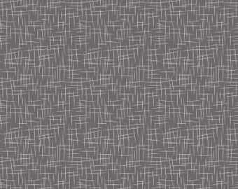1 Yard  Large Hash Tag by Riley Blake Designs- 115 Charcoal
