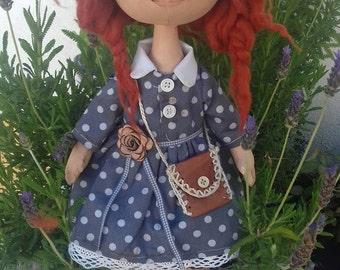 Doll decoration. Artistik doll.tilda doll.