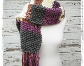 Warm soft scarf - unique! ONE OF A KIND! * hand *.