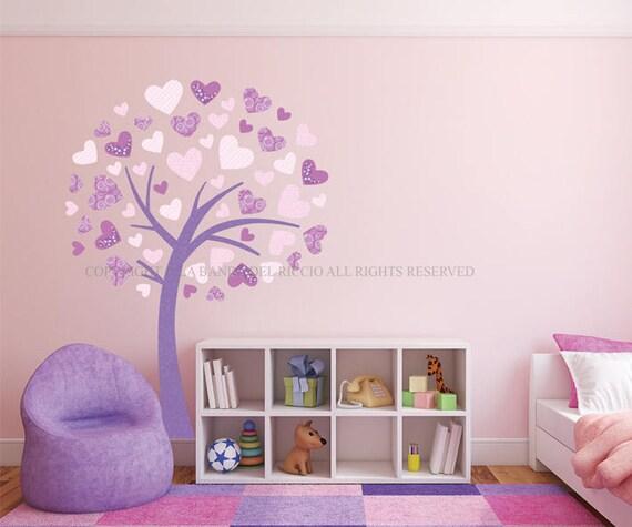 Albero adesivo da muro cameretta bambini wall decal wall for Crea la tua cameretta
