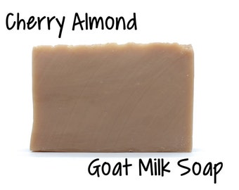 Cherry Almond Goats Milk Soap