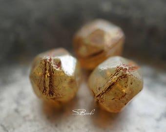 Champagne Cuts, Czech Beads, Beads, N2294